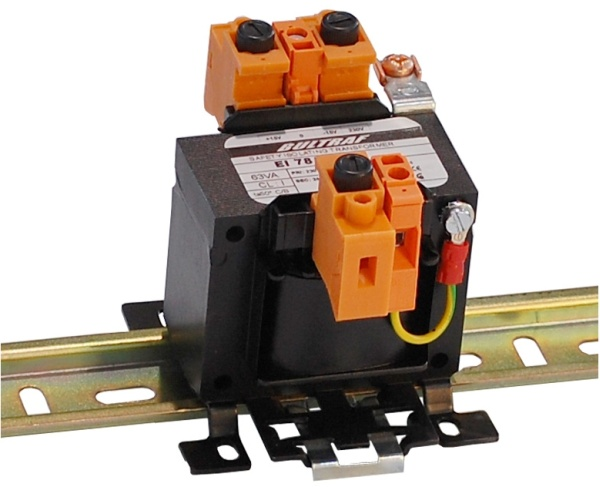 Single-phase Transformer - Attachable on DIN rail Series EDKE